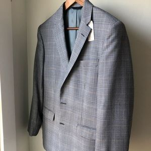 NWT Brooks Brothers Wool Glen Plaid sport coat